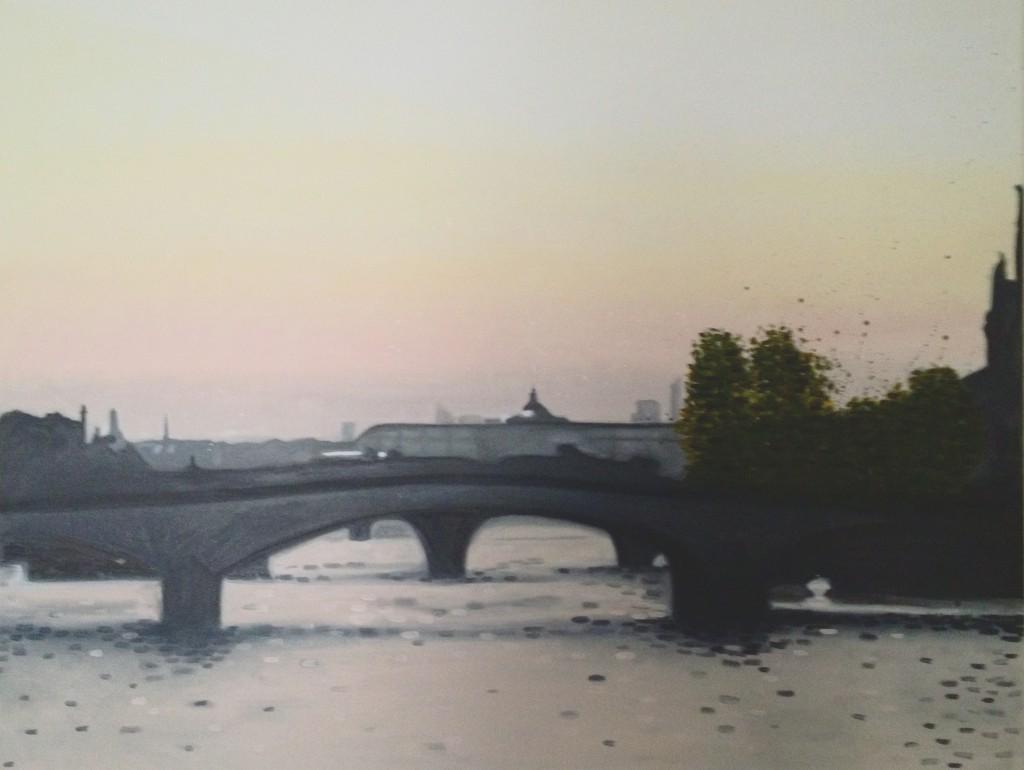 Paris / huile sur toile 89 x 114 cm / 2012