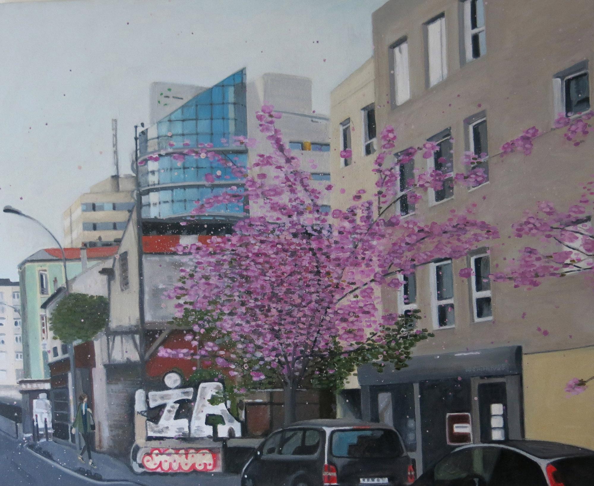 Montreuil / Huile sur toile / 2014 / 60 x 50 cm